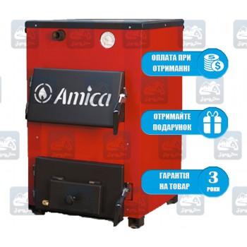 Amica Optima P (18 кВт) - Твердотопливный котел-плита Амика