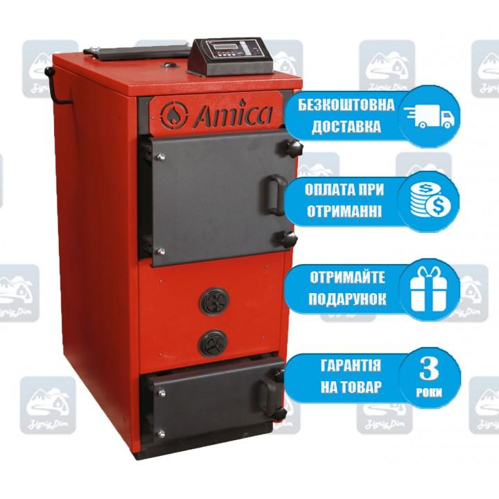 Amica Pyro M (18-26 кВт) - Пиролизный котел длительного горения Амика