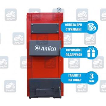 Amica Solid (17-60 кВт) - Твердотопливный котел на дровах и угле Амика
