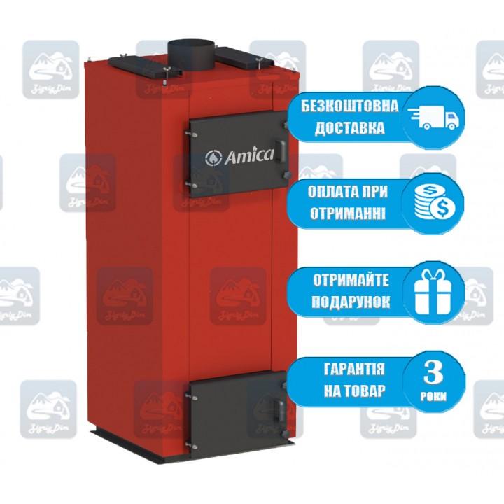 Amica Time U (20-60 кВт) - Твердотопливный котел длительного горения Амика
