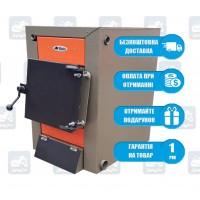 Bizon Klassic Termo (10-20 кВт) - Твердотопливный котел на дровах и угле Бизон