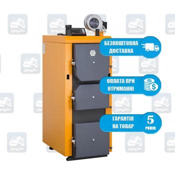 Донтерм Т (ДТМ-Турбо) (10-100 кВт) - Твердотопливный котел длительного горения Donterm