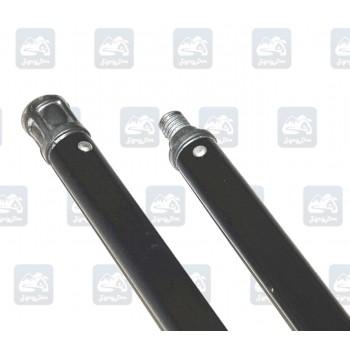 Гибкая ручка Hansa черного цвета для чистки дымохода 1 м