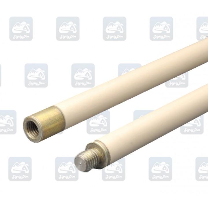 Гибкая ручка Hansa белого цвета для чистки дымохода 1 м