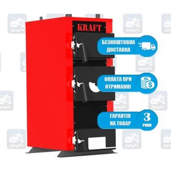 Kraft E New (12-24 кВт) - Твердотопливный котел на дровах и угле Крафт