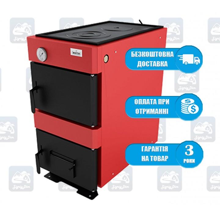 Marten Base-V (12-17 кВт) - Твердотопливный котел-плита Мартен