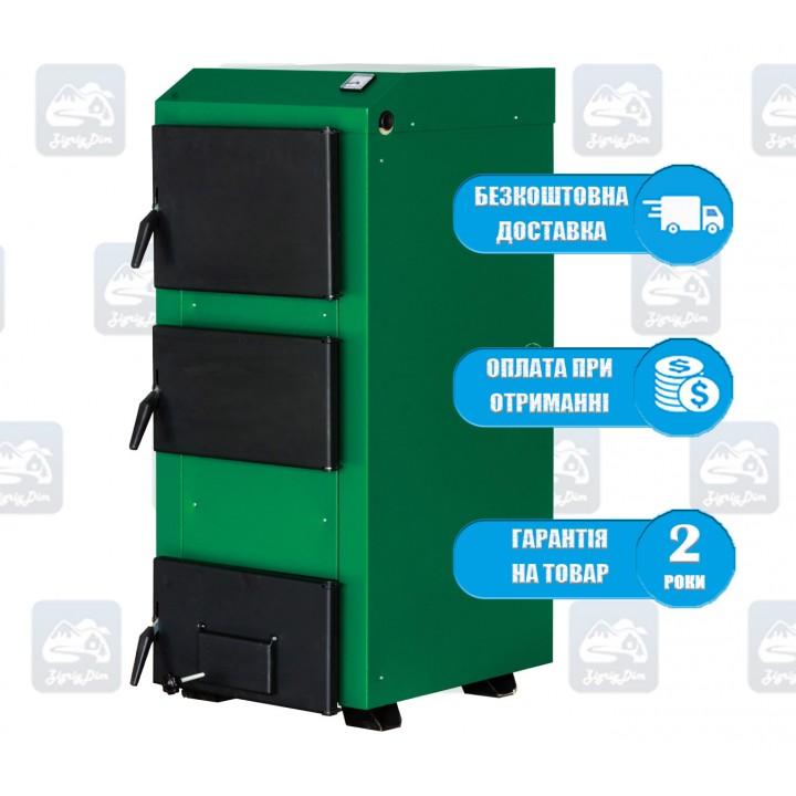 Макситерм Люкс (16-26 кВт) - Твердотопливный котел на дровах и угле MaxiTerm