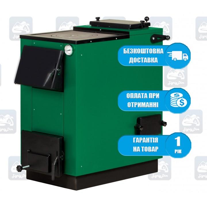 Макситерм Люкс-П (15-22 кВт) - Твердотопливный котел-плита MaxiTerm