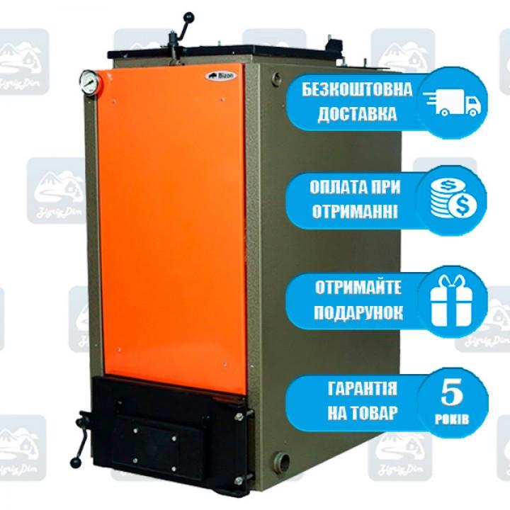 Bizon FS Standart Termo - 6mm (10-99 кВт) - Твердотопливный котел длительного горения Бизон