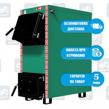 Зубр Еко (12-24 кВт) - Твердотопливный котел на дровах и угле Zubr