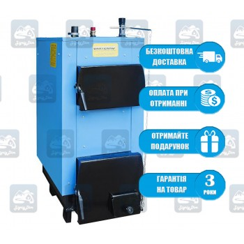 Ukrtermo 100 Д (16-18 кВт) - Твердотопливный котел на дровах и угле Укртермо