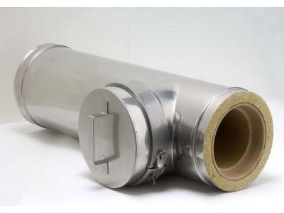 Как правильно установить дымоход для твердотопливного котла