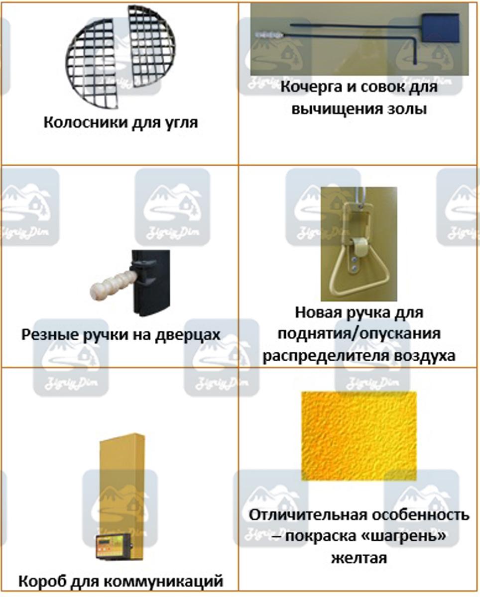 Комплектующие твердотопливного котла длительного горения Stropuva S Ideal 2